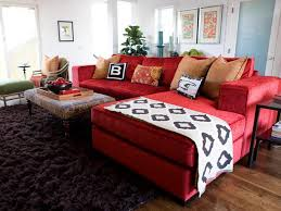 Red Black And Brown Living Room Ideas by Extravagant Modern Style Red Sofas Living Room Furniture Design