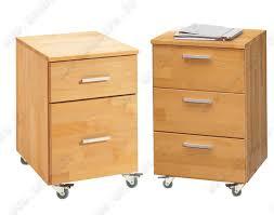 bureau en bois caisson de bureau en bois massif huilé