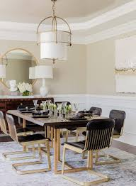 Transitional-dining-room-modern Glamorous Eclectic Kitchen ... Mcr4502f Ding Chairs Fniture By Safavieh Ding Chairs Gold Coast Graysonline Brabbu Room Chair N 20 Gold Faux Leather Navy With Hdware Legs Askar In Black And Rose For Timeless Modern Style Alligator Embossed Leaf Table Set Cameron Beige Tufted Velvet On Stainless Steel Base Of 2 Meridian Akoya Pink Salvatore Grey