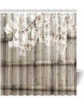 Japanese Cherry Blossom Bathroom Set by Bargains On Collections Etc Bunny On A Fence Yard Decor