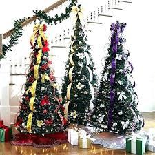 Tall Slim Pre Lit Christmas Trees 2 Foot Lighted Tree Best Fake