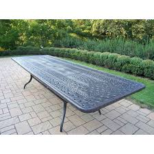 extendable outdoor dining table perth evesham patio 6 8 person