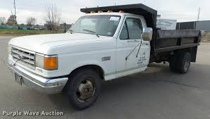 100 F350 Ford Trucks For Sale 1987 XL Dump Bed Pickup Truck Item K8101 SOLD
