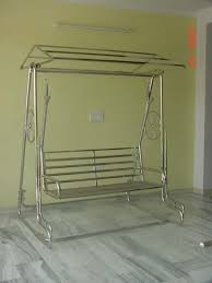 Steel Garden Swing