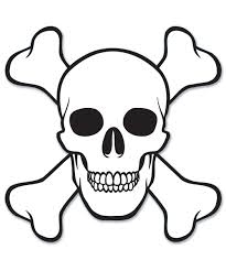Pirate Halloween Stencils by Skull And Crossbones Stencil Free Download Clip Art Free Clip