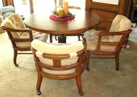 Dining Room Game Table Second Hand Furniture Inspirational Heritage Oak Adjustable Height Round