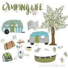 Camping Clip Art RV