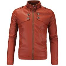 compare prices on brown leather jacket men online shopping buy