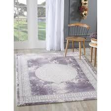 flachgewebe teppich kale in lila teppich lila teppich