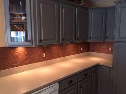 Copper Tiles For Backsplash by Diy Kitchen Copper Backsplash Hometalk