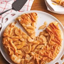 cuisine tarte aux pommes tarte aux pommes et sirop d érable en pâte phyllo recettes