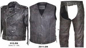 men u0027s gray matching set jacket vest chaps