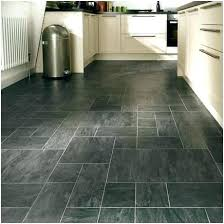 Slate Floor Kitchen Mesmerizing Black Flooring Tiles A Finding Laminate Professional Tile