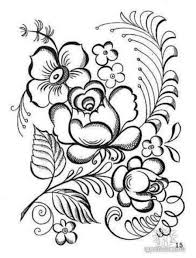 Rose Flower Leaves Coloring Page