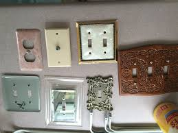 Bye Bye Beige Painting outlet covers white
