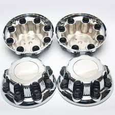 4PCS CHROME GMC Chevy Silverado Sierra Wheel Center Caps For 16