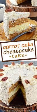 Carrot Cake Cheesecake Cake Recipe