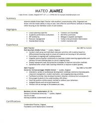 Teacher Education Emphasis Resume Templates Imposing Skills Art Rh Offtherecordnashville Com Professional For English