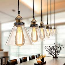 vintage pendant light glass pendant l kitchen fixtures dining