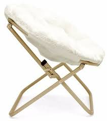 Microsuede Folding Saucer Chair by Top 10 Best Papasan Chairs In 2017 Reviews