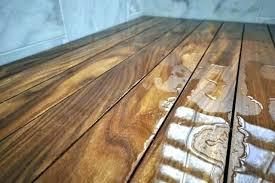 Teak Shower Floor Insert Wood Bathroom Mat Flooring For Your Mats