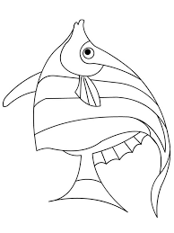 Angelfish Coloring Pages 4