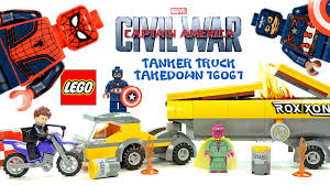 LEGO® Marvel Captain America: Civil War 76067 Tanker Truck Takedown ...