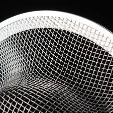 stainless steel mesh design sink strainer stopper for kitchen