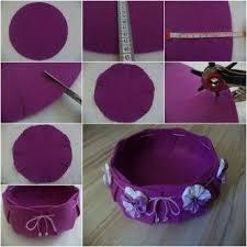 Creative Ideas DIY Easy And Pretty Felt Basket