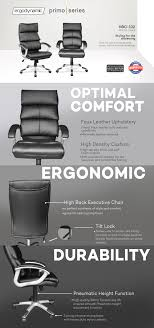 Ergodynamic HBC-132 Faux Leather High Back Office Chair Best Ergonomic Office Chairs 2019 Techradar Ergonomic 30 Office Chairs Improb Dvo Spa Design Fniture For The 5 Years Warranty Ergohuman Enjoy Classic Ejbshbmf Smart Chair Comfortable Gaming Free Installation Swivel Chair 360 Degree Racing Gaming With Footrest Gaoag High Back Lumbar Support Adjustable Luxury Mesh Armrest Headrest Orange Grey Lower Pain In India The 14 Of Gear Patrol 8 Recling Footrest Bonus
