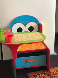 Delta Children Chair Desk With Storage Bin Sesame Street Toddler Table Chairs Set Peppa Pig Wooden Fniture W Builtin Storage 3piece Disney Minnie Mouse And What Fun Top Big Red Warehouse Build Learn Neighborhood Mega Bloks Sesame Street Cookie Monster Cot Quilt White Bedroom House Delta Ottoman Organizer 250 In X 170 310 Bird Lifesize Officially Licensed Removable Wall Decal Outdoor Joss Main Cool Baby Character 20 Inspirational Design For Elmo Chair With Extremely Rare Activity 2