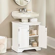 Weatherby Bathroom Pedestal Sink Storage Cabinet by Best 25 Pedestal Sink Storage Ideas On Pinterest Small Pedestal
