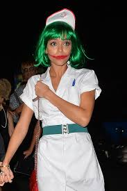 West Hollywood Halloween Parade 2014 by Celebrities Attend The Hollywood Forever Halloween Party Kelly