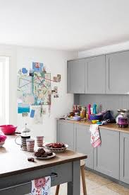 Shades Of Grey Shaker KitchenShabby Chic WallpaperKitchen