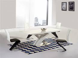 100 White Gloss Extending Dining Table And Chairs Mayfair XO High Big And 6 Leona Z