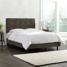 King Platform Bed With Fabric Headboard by Bed Frames What Is A Fabric Bed Upholstered Headboard King