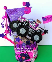 Monster Truck Cake Toppers, Custom Cake Toppers, Birthday Cake ...