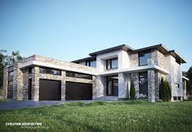 100 Modern Style Homes Design Architecture Contemporain Plan Exclusif E1015