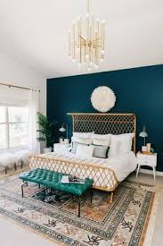 Clean Clear Laid Back Green And Peach Interiors Decor8 Teal Bedroom WallsDark Furniture