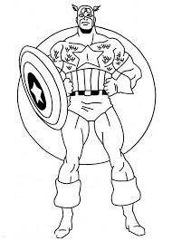 36 Captain America Coloring Pages 2211 Via Freecoloringpagescouk