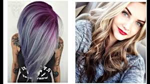 2017 Summer Hair Color Trends Ombre Ideas Styles Youtube