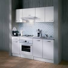 conforama cuisine electromenager petit espace kitchenette cuisine spoon façades mélaminé blanc