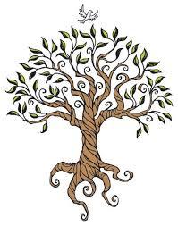 Drawn tree simple 3