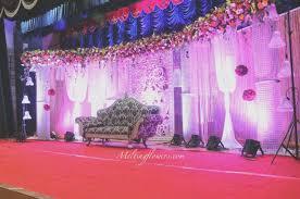 Elegant Garden Wedding Stage Design