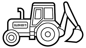 100 Truck Pages Last Chance Excavator Coloring Page How To Draw Tractor