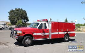 1993 Ford F450 Rescue Fire Truck For Sale By Truck Site - YouTube