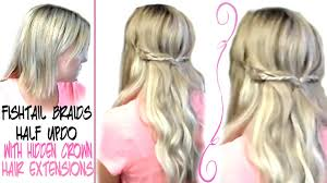 Simple Fishtail Braid Hairstyle|Using Hidden Crown Hair Extensions Hidden Crown Hair Extension Reviewpros Cons Final Recommendations Exteions Clip Ins Toppers Beauty Tagged Hidden Crown Hair Exteions 36buckscom Kym Loves Posts Facebook Lauren Ashtyn Topper Review Coupon Code Allisons Journey Home Does It Work Hidden Crown Hair Exteions Promo Code Print Sale