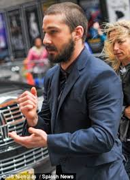 Sofa King Snl Shia Labeouf by Shia Labeouf Scrubs Up Well As He Hobbles To Letterman Studios On