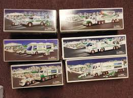 Lot Of 6 Hess Trucks (All New In Box W I) - 1994, 2000, 2003, 2005 ... Hess Emergency Truck With Rescue Vehicle 2005 Best Hess For Sale In Dollarddes Ormeaux With N128 Ebay Any More Trucks Resource 31997 2000 2009 2010 Lot Of 8 Mint 19982017 Complete Et Collection Miniatures Trucks 20 Used Peterbilt 379 Tandem Axle Sleeper For Sale In Pa 25466 Emergency Fire New 1250 Toy Trucker Store Online Sale 1996 Ladder Brand New Never Having Texaco Wings Mini