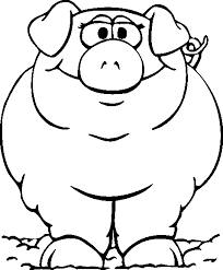 Free Coloring Pages Of Farm Animals Dot To